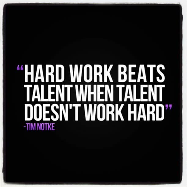 Hard Work Beats Talent Quotes: What Separates Good Athletes From Great Athletes… Got Grit?